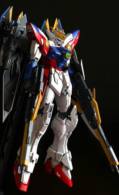 Gundam mech