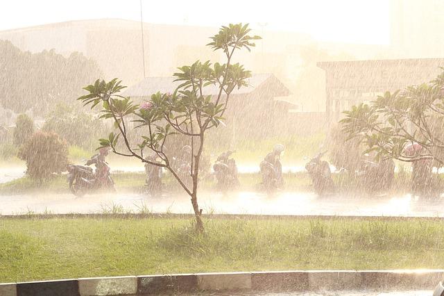 Rain weather effects