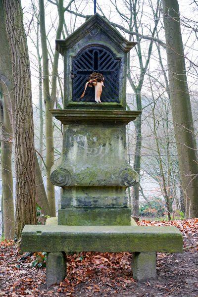 Shrine in the woods